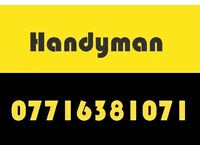 guaranteed low price handyman, painting HANGING Pictures hanging TV wall mounting Door repair