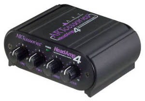 ART Pro Audio 4 Channel Headphone Amp