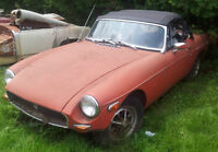 1974 MGB Project Car