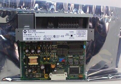 Unused Allen Bradley Slc 500 Analog Output Module 1746-no4v Series A