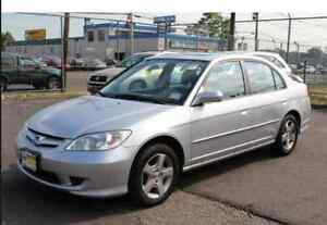 2005 Honda Civic Sedan SE