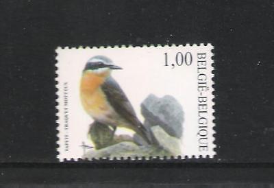 BELGIQUE - BUZIN - OISEAUX / BIRDS (TRAQUET MOTTEUX) - 1V**MNH d'occasion  Braine-le-Château