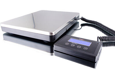 Digital Portable Shipping Bench Scale 160x0.2 Lb 76x0.1 Kgac Adaptor 110-240v