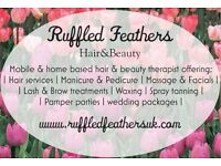 Mobile hair and Beauty therapist