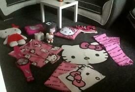 Full hello kitty single bedroom