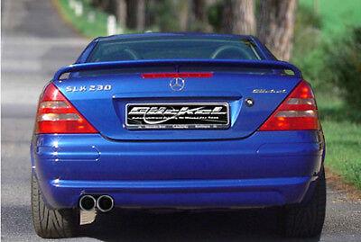 Mercedes Benz SLK R170 Premium Sportauspuff Auspuff Endschalldämpfer links