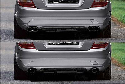 Mercedes Benz C-Klasse W204 Sportauspuff Klappenauspuff Auspuff  VA Dup.