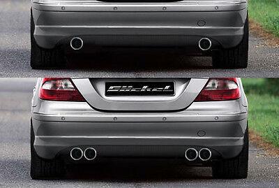 Mercedes Benz CLK W209 AMG Performance Sportauspuff Auspuff Endschalldämpfer VA