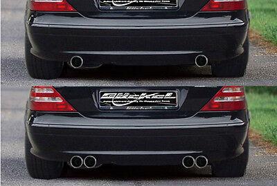 Mercedes Benz SLK R170 Klappenauspuff Sport Auspuff Endschalldämpfer