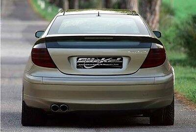 Mercedes Benz CL203 Klappenauspuff Sportauspuff Auspuff Edelstahl Endrohre 2xli