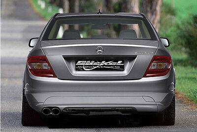 Mercedes Benz C-Klasse W204 Sport Edition Sport Auspuff Edelstahl Ausgang 2xli.