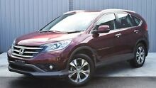 2013 Honda CR-V RM MY14 VTi-L 4WD Red 5 Speed Sports Automatic Wagon Invermay Launceston Area Preview