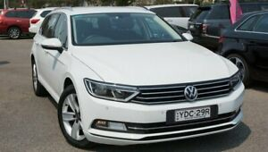 2015 Volkswagen Passat 3C (B8) MY16 132TSI DSG White 7 Speed Sports Automatic Dual Clutch Wagon