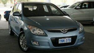 2010 Hyundai i30 FD MY10 SLX Blue 4 Speed Automatic Hatchback
