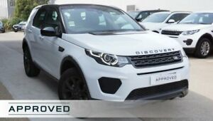 2019 Land Rover Discovery Sport L550 19MY TD4 132kW Landmark Yulong White 9 Speed Sports Automatic
