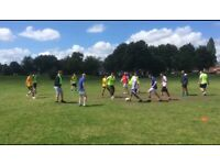 Wolverhampton casual football training