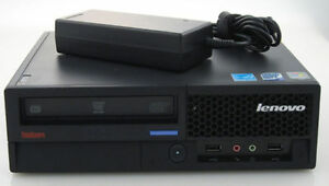 IBM Lenovo M57 USFF Core 2 Quad 2.4GHz 8GB RAM 500GB HDD UltraS