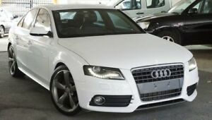2011 Audi A4 B8 8K MY11 Multitronic White 8 Speed Constant Variable Sedan Pearce Woden Valley Preview
