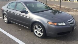 2006 Grey Acura TL Sedan