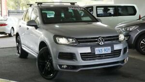 2013 Volkswagen Touareg 7P MY13 V8 TDI Tiptronic 4MOTION R-Line Silver 8 Speed Sports Automatic Pearce Woden Valley Preview