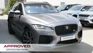 2019 Jaguar F-PACE X761 MY20 SVR AWD Eiger Grey 8 Speed Sports Automatic Wagon