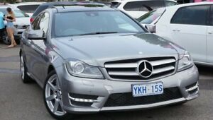 2013 Mercedes-Benz C-Class C204 MY13 C250 7G-Tronic + Grey 7 Speed Sports Automatic Coupe