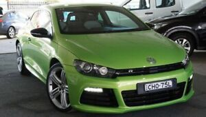 2012 Volkswagen Scirocco 1S MY12 R Coupe DSG Green 6 Speed Sports Automatic Dual Clutch Hatchback Pearce Woden Valley Preview