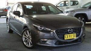 2018 Mazda 3 BN5438 SP25 SKYACTIV-Drive GT Grey 6 Speed Sports Automatic Hatchback Pearce Woden Valley Preview