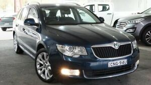 2013 Skoda Superb 3T MY13 Elegance DSG 125TDI Blue 6 Speed Sports Automatic Dual Clutch Wagon Pearce Woden Valley Preview