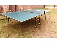 Butterfly folding table tennis table