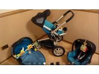 Quinny Buzz / travel system , car seat included