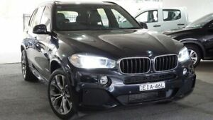 2014 BMW X5 F15 xDrive30d Black 8 Speed Sports Automatic Wagon Pearce Woden Valley Preview