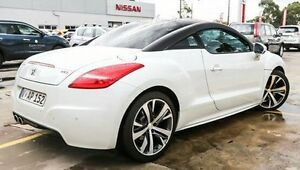 2013 Peugeot RCZ White Manual Coupe Bentleigh Glen Eira Area Preview
