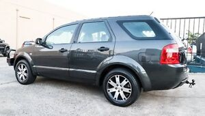 2008 Ford Territory SY 7 SEATER SR Grey 4 Speed Auto Seq Sportshift Wagon Underwood Logan Area Preview