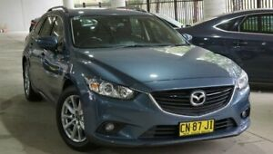 2017 Mazda 6 GL1031 Sport SKYACTIV-Drive Blue 6 Speed Sports Automatic Wagon Pearce Woden Valley Preview