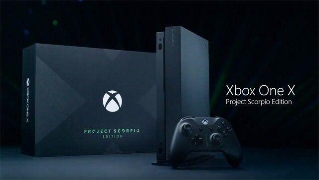 Xbox one X - Project Scorpio Limited edition console