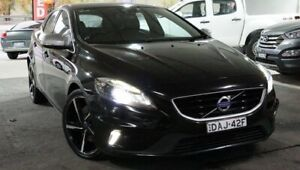 2015 Volvo V40 M Series MY15 T5 Adap Geartronic R-Design Black 8 Speed Sports Automatic Hatchback Pearce Woden Valley Preview