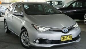2018 Toyota Corolla ZWE186R Hybrid E-CVT Silver 1 Speed Constant Variable Hatchback Hybrid Pearce Woden Valley Preview