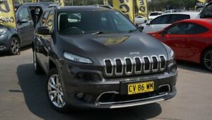 2015 Jeep Cherokee KL MY15 Limited Black 9 Speed Sports Automatic Wagon Phillip Woden Valley Preview