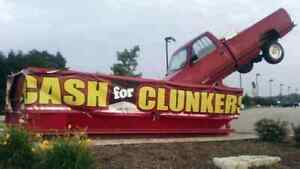 $$CASH FOR CLUNKERS AND JUNKERS $$