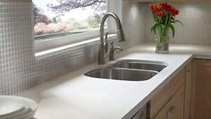 Renovation armoire de cuisine ,comptoir granite