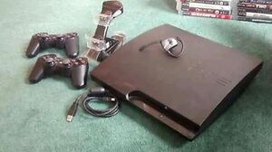 Ps3 30 games 2 dualshock wireless controllers