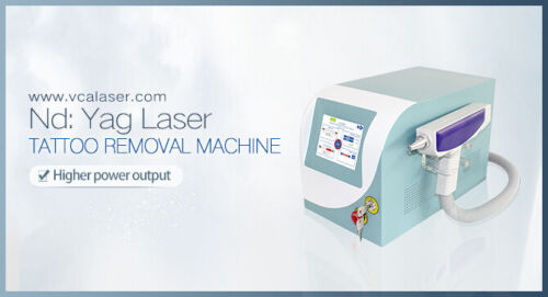 1064/532nm Q-Switched ND: YAG Laser Tattoo Removal with Skin Rejuvenation