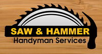 Handyman Services in Waterloo Region and Surrounding Area