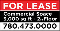 OFFICE FOR RENT/LEASE - 2 SPACES - RENT 1 OR BOTH-TOTAL 2100 sq