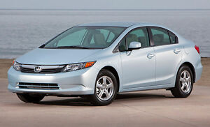 The Civic Natural Gas provides all the reliability of a Civic, but the ability to use cheap clean CNG as a fuel.
