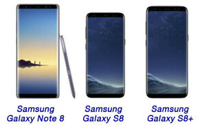 Simply Stunning Sale on Samsung S8,S8+ & Note 8-We are 2 Stores