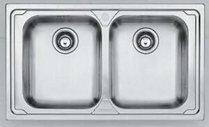 Stainless Steel LOX-620 Dominox by Franke Italy