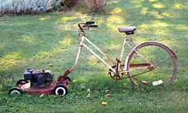 Wanted lawnmowers dead or alive strimmers chain saws garden machinery