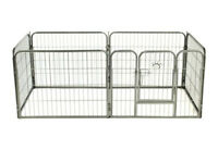 PUPPY PEN. DOG ENCLOSURE. KENNEL. CRATE. CAGE.